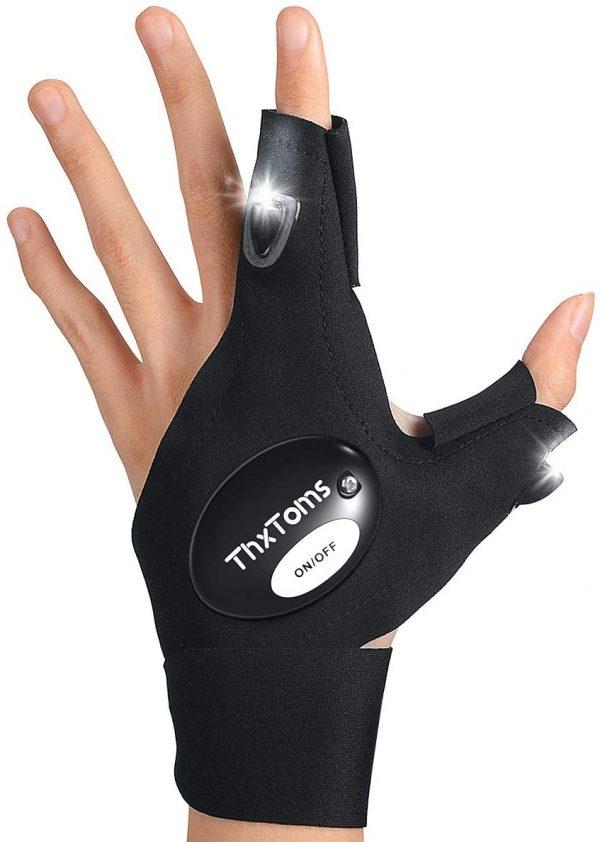 LED Flashlight Glove