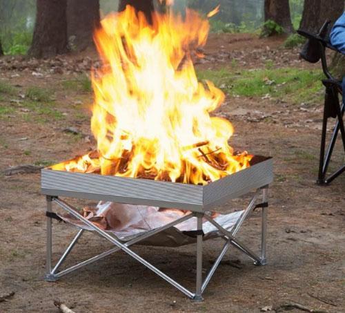 Pop-Up Portable Fire Pit