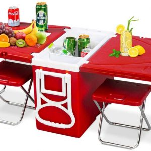 Rolling Cooler Table