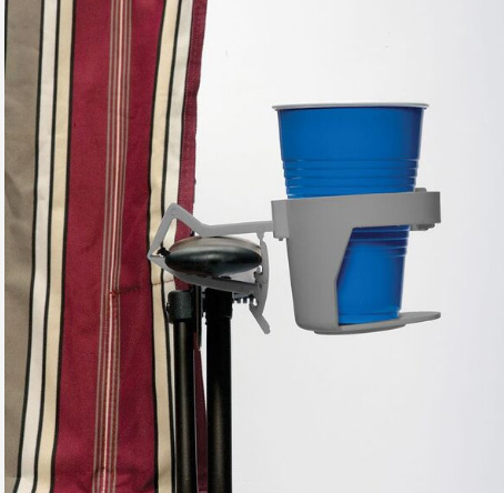 Clamp On Cup Holder