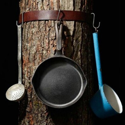 Camping Hack - Pot and Pan Holder