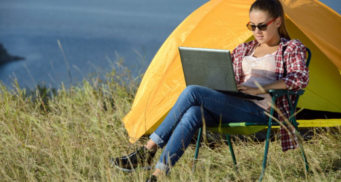 The Gadgets You Need If You Want To Work While Camping